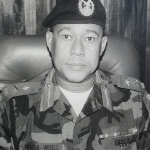 LT GEN WM MENSAH-WOOD